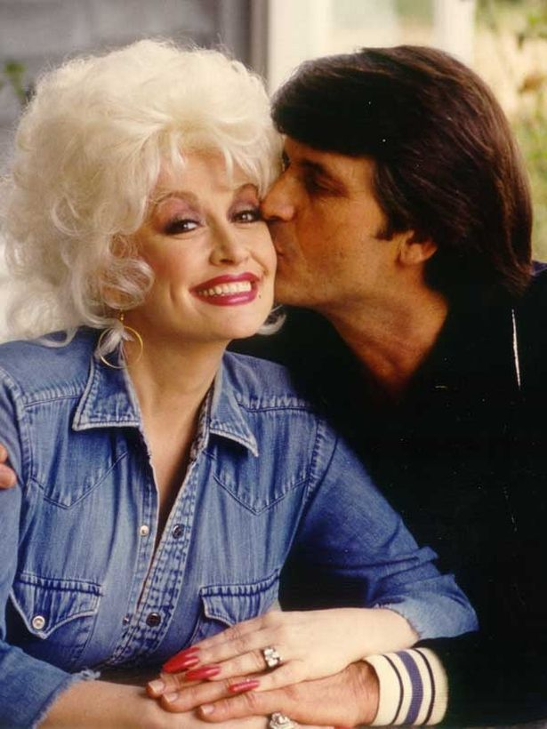 Dolly's husband Carl is a big fan of her style