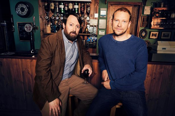 Robert Webb, pictured with David Mitchell, needed vital heart surgery