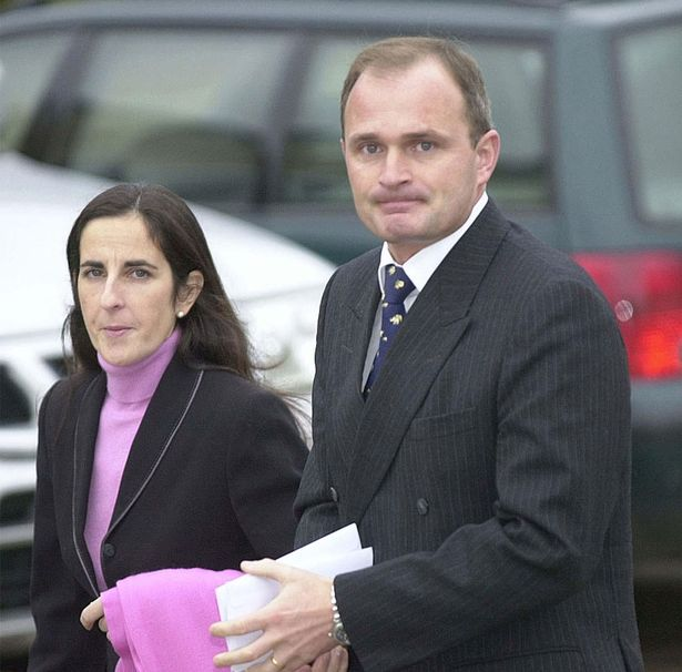 Charles and Diana Ingram arrive at court
