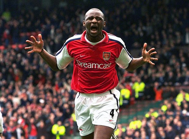 Patrick Vieira became legendary as captain of Arsenal in a period of glory for the club