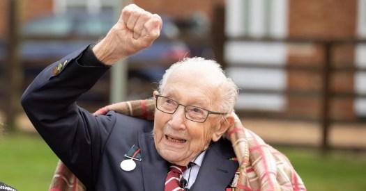 Captain Tom Moore, 100, who raised over €35million for ...