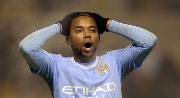 Robinho joined the Sky Blues on deadline day in 2008
