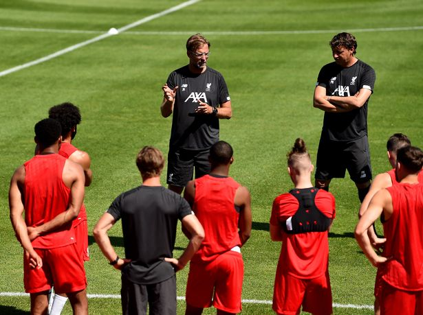 Klopp invited Steudtner to Liverpool's pre-season training camp in France