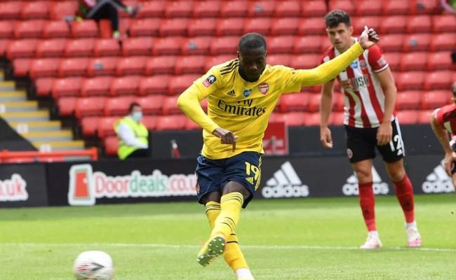 Sheffield United 1 2 Arsenal Player Ratings Nicolas Pepe