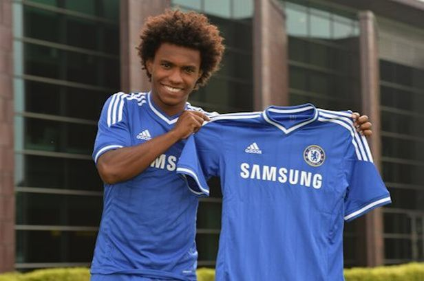 Image result for Willian signing for chelsea