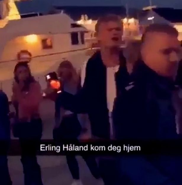 Dortmund Star Erling Haaland Thrown Out Of The Nightclub Upon His Return To Norway Fr24 News English