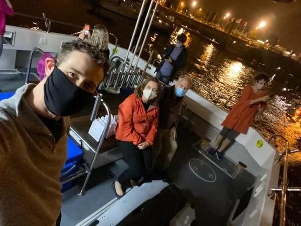 The Dunedin Consort chartered a fishing boat