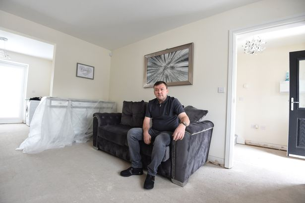 Andrew Banks said his home has turned into a 'living nightmare'