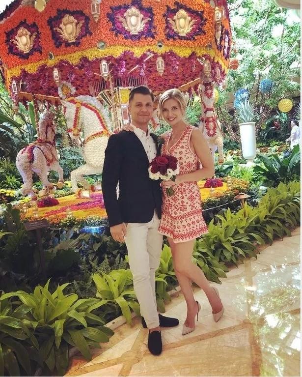Rachel and Pasha got married in Las Vegas
