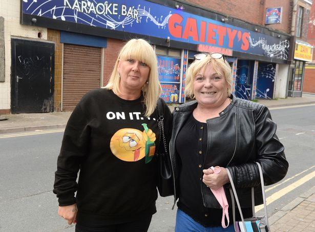 Kelly and Gina had been looking forward to their girls' weekend in Blackpool