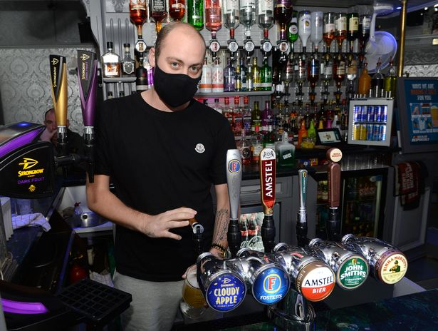 Ryan Clark, the bar supervisor of The Victoria pub, worries how he will survive