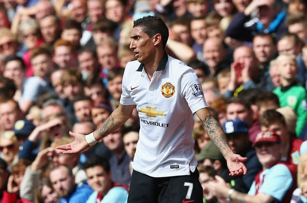 Di Maria lasted just one season at Old Trafford before joining PSG