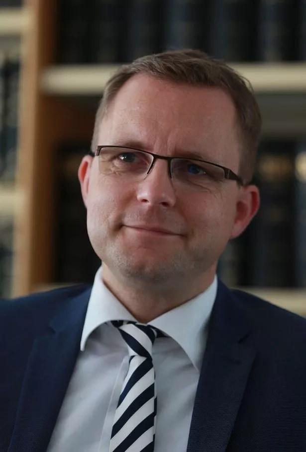 Hans Christian Wolters German prosecutor investigating the case of Christian Brückner