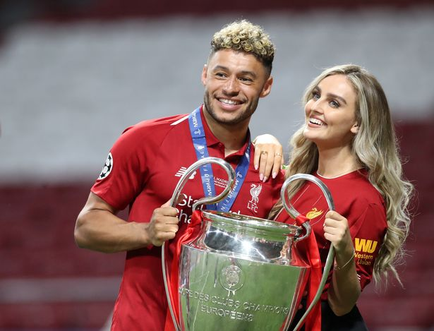 Klopp praised the support Perrie gave to her boyfriend