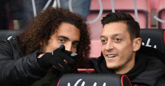 Matteo Guendouzi responds to Mesut Ozil's 'underestimated' comments