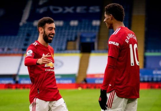Bruno Fernandes and Marcus Rashford have been in good shape for Manchester United