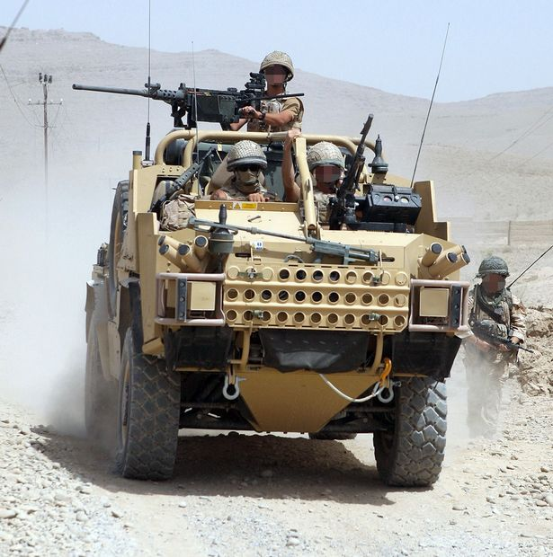 British troops were at war in Afghanistan for 13 years