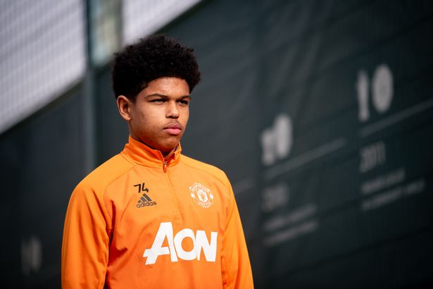 """Shoretire has always been """"stretched"""" and is now training with the Man Utd first-team regularly"""