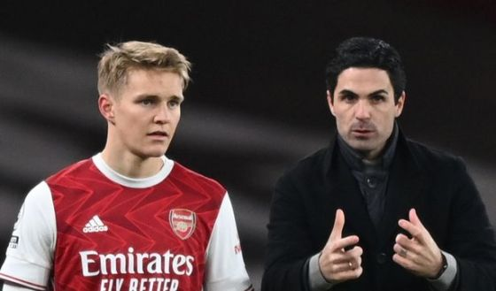 Martin Odegaard is currently on loan at Arsenal