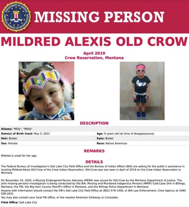 0 Mildred Alexis Old Crow