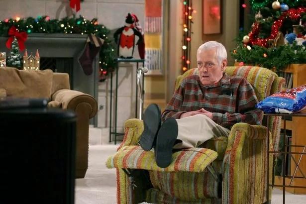 John Mahoney played Frasier and Niles' father, Martin