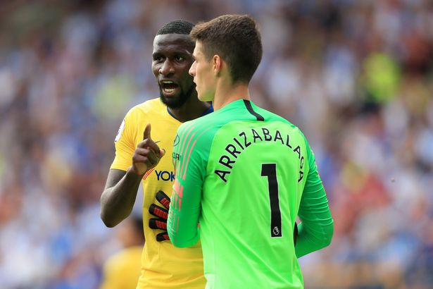 Antonio Rudiger and Kepa Arrizabalaga involved in second Chelsea bust-up  inside 24 hours - Mirror Online