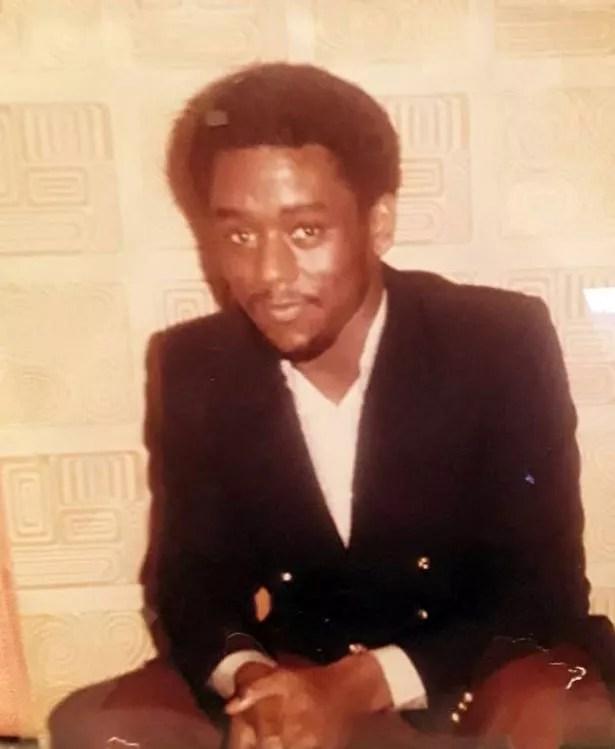 Alex Wheatle, aged 19, taken around 1982