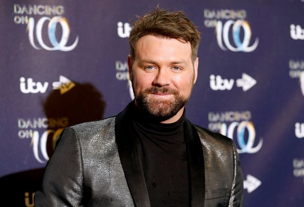 Brian McFadden has since found love with Deltra Goodrem