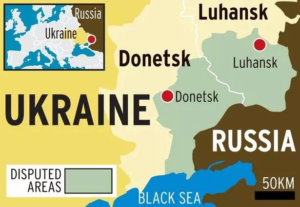 Rosja twierdzi, że chroni prorosyjską ludność cywilną we wschodniej Ukrainie