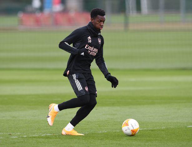 Eddie Nketiah is a reported target for West Ham