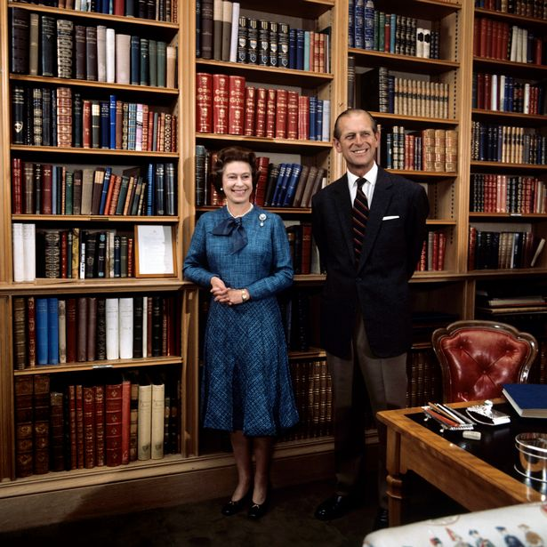 The Queen and her husband pictured here in 1976