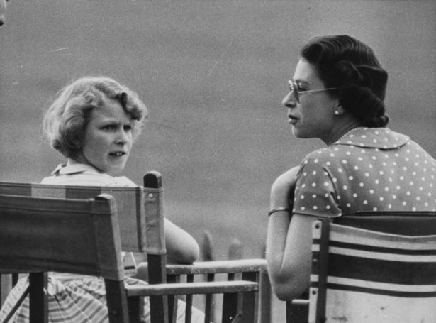 Princess Anne and the Queen