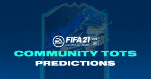 FIFA 21 Community TOTS (Season Team) predictions with fan voting in progress