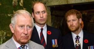 Charles 'putus asa' untuk berdamai dengan Harry tetapi William 'memiliki masalah kepercayaan'