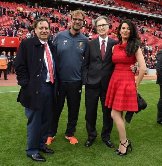 Bos The Reds Jurgen Klopp bersama Tuan Henry