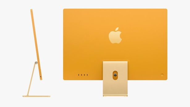 Apple has unveiled its skinniest iMac yet in a vibrant colour range