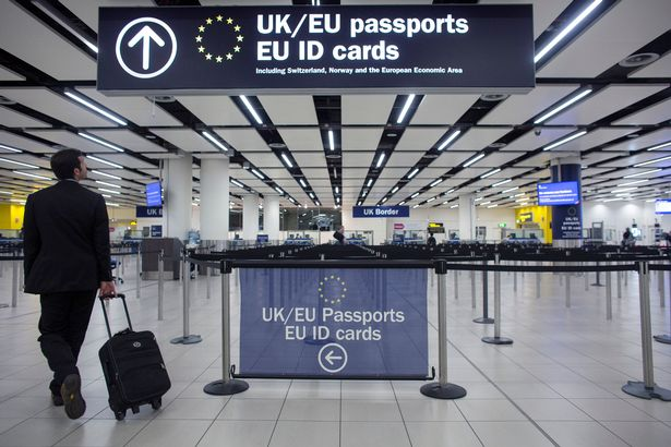 The government have been alerted to a growing problem at boarder control