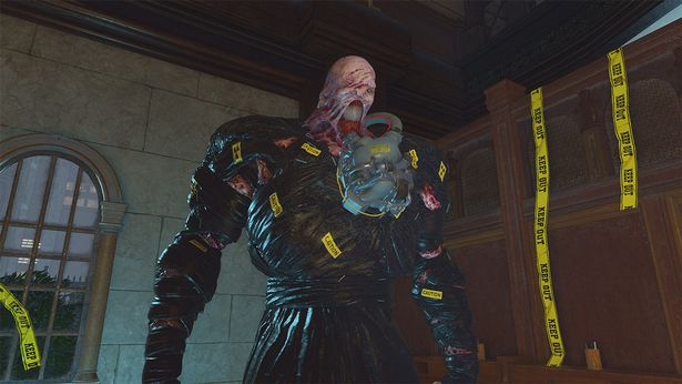 Transform into the Nemesis-T Type in Resident Evil Re:Verse