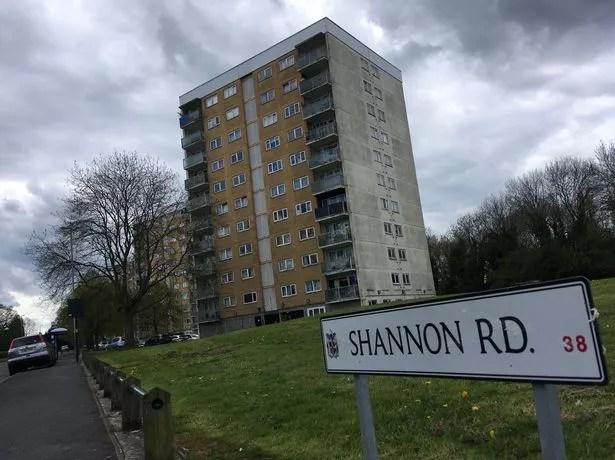 GV of Shannon Road in Kings Norton, Birmingham