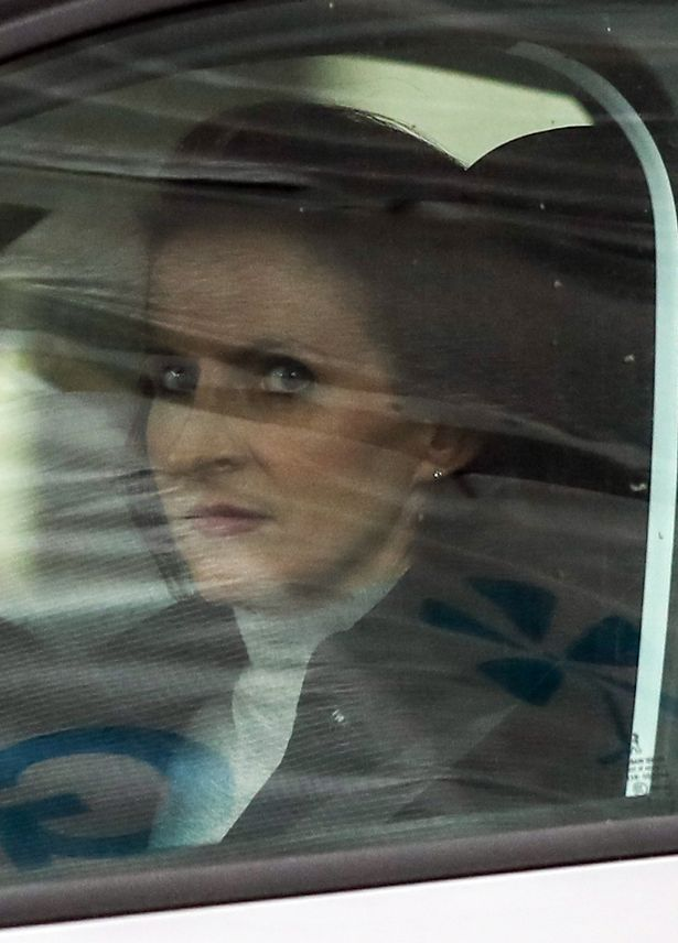 Victoria Cilliers leaves Winchester Crown Court after giving evidence in the trial of husband Emile Cilliers who was charged with her attempted murder
