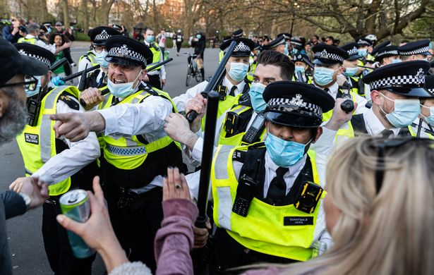 The police leader said officers needed greater protection