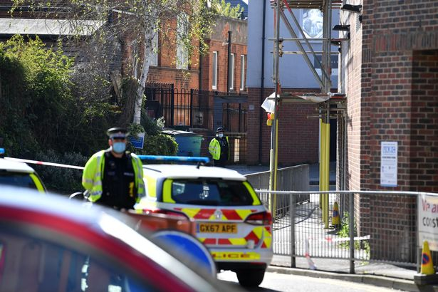 Police were called to the scene at 2.15pm
