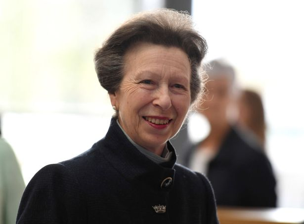 Princess Anne is not directly related to Stephanie