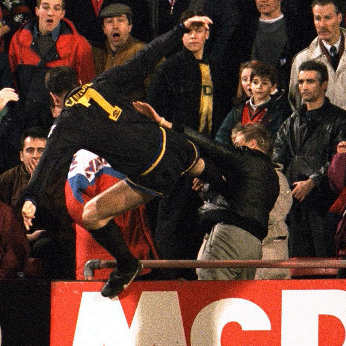 The fan supposedly shouted at him fu*k off back to france, you french motherfu*ker. Eric Cantona Says He Regrets Not Kicking Crystal Palace Fan Harder Despite 9 Month Ban Mirror Online