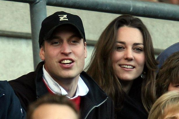 Enjoying the rugby as England play Italy in the RBS Six Nations Championship at Twickenham in 2007