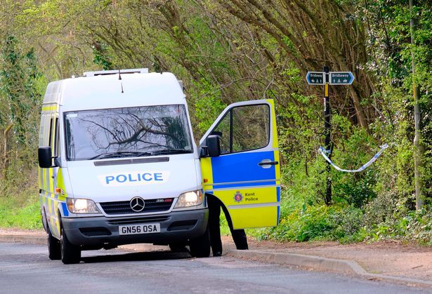 Kent Police confirmed that the woman was a PCSO, it has been reported