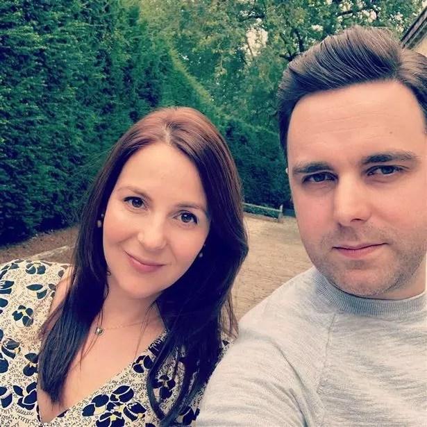Chris Thorold and wife Rachael