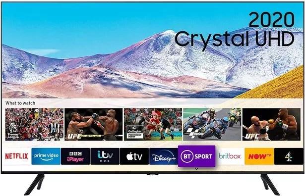 "Samsung 55"" TU8000 HDR Smart 4K TV"