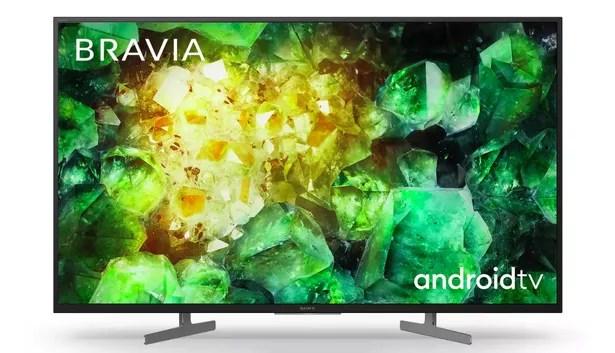 Sony 55 Inch KD55XH8196BU Smart 4K UHD HDR LED Freeview TV
