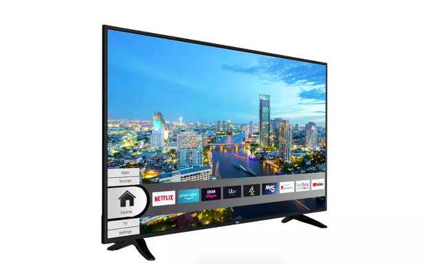 Bush 55 inch 4K Smart UHD DLED HDR Freeview TV